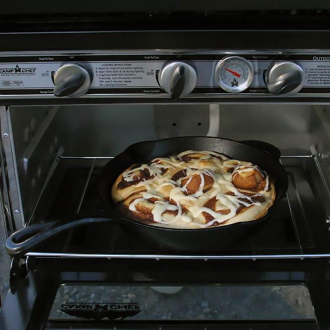 "Litoželezna ponev Camp Chef 10"""