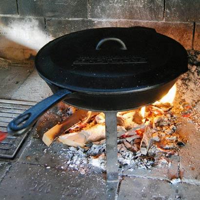 Pokrovka za litoželezne ponve Camp Chef 25cm