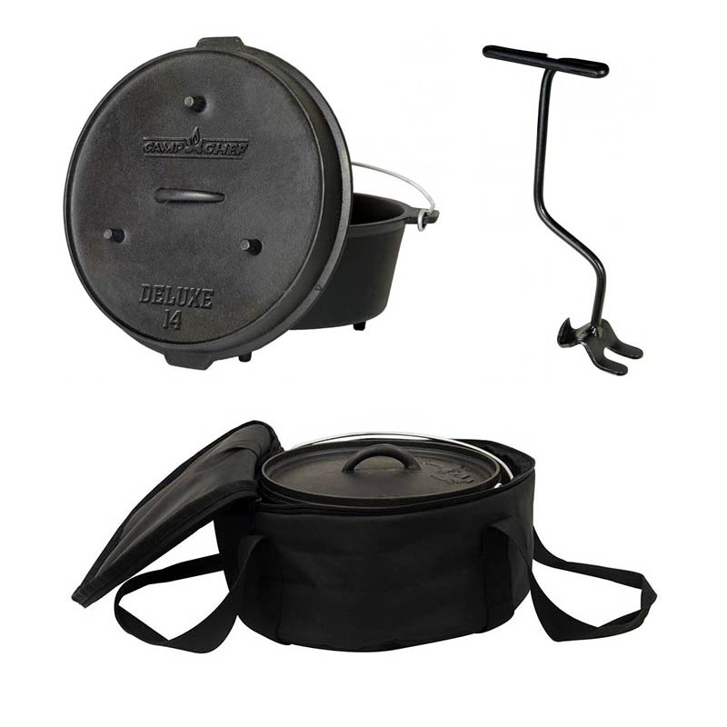 CAMP CHEF komplet posoda Dutch oven 36cm s torbo (DO14)