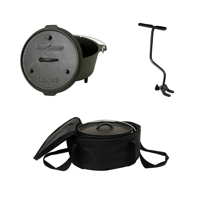 CAMP CHEF: komplet posoda Dutch oven 25cm s torbo (DO10)